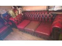 Chester field sofa suit RARE