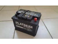 Car battery 12V - used but in good condition