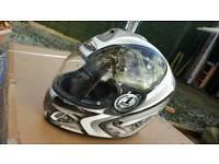 Nitro MECHINICA Motorcycle Motorbike Scooter racing full face crash lid helmet L Large 60 cm