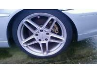 "18"" AC SCHNITZER alloy wheels with good tyres"