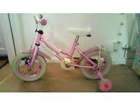 pink 12 inch bike