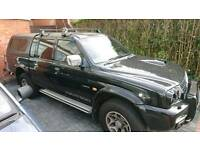 Mitsubishi L200 Warrior, low mileage, Hardtop and canvass top, any test welcome