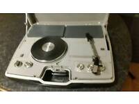 Retro Colt portable record player