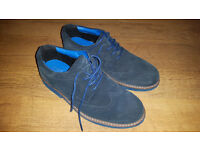 M&S real suede boys shoes size 2