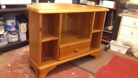 Solid pine TV Corner Unit - Collect only.
