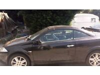 breaking renault megane convertable all parts available