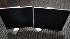 2 Dell Monitor 19 inch