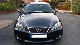 LEXUS IS 250 F - Sport, Sat Nav, Full Lexus Service History, Full House spec, 12 months MOT