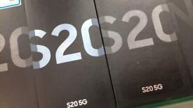 Samsung galaxy S20 5G unlocked brand new box two