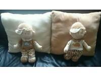 Set of 2 Cute Cushions/ Pillows