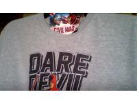 Mens NEW - MARVEL T-Shirt - GREY XL