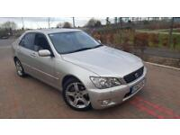 2003(52) Lexus IS300 Auto 3.0 213BHP Full Service History Cambelt Changed 2Key Heated Black Leathers