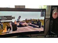 """SAMSUNG C27F390 27"""" 4ms AMD FREESYNC CURVED MONITOR - BLACK"""