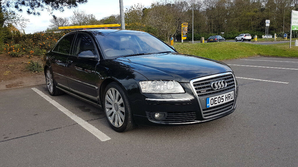 2005 audi a8 w12 6 0 quattro swb auto black 98000 miles in scunthorpe lincolnshire gumtree. Black Bedroom Furniture Sets. Home Design Ideas
