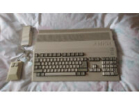 Commodore Amiga 500 , serviced , recapped and tested