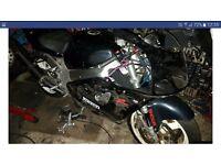 Suzuki srad 750 injection project