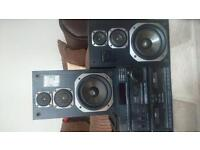 Technics Separates and Speakers