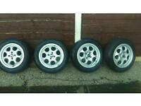 "15"" genuine mini Cooper alloy wheels"
