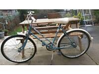 Halfords vintage cycle