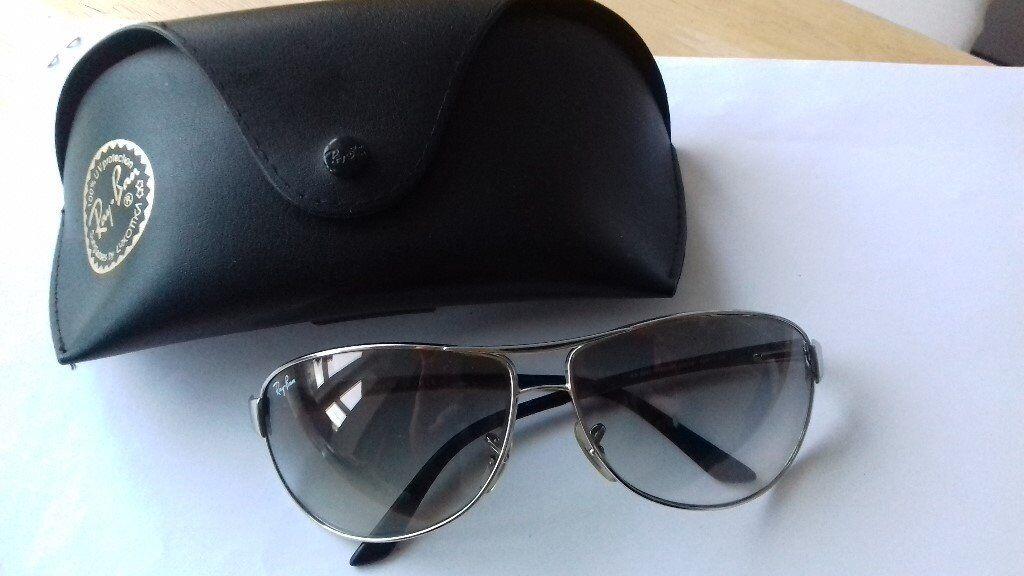 5ae001d99c5 A pair of genuine Ray Ban Warrior sunglasses