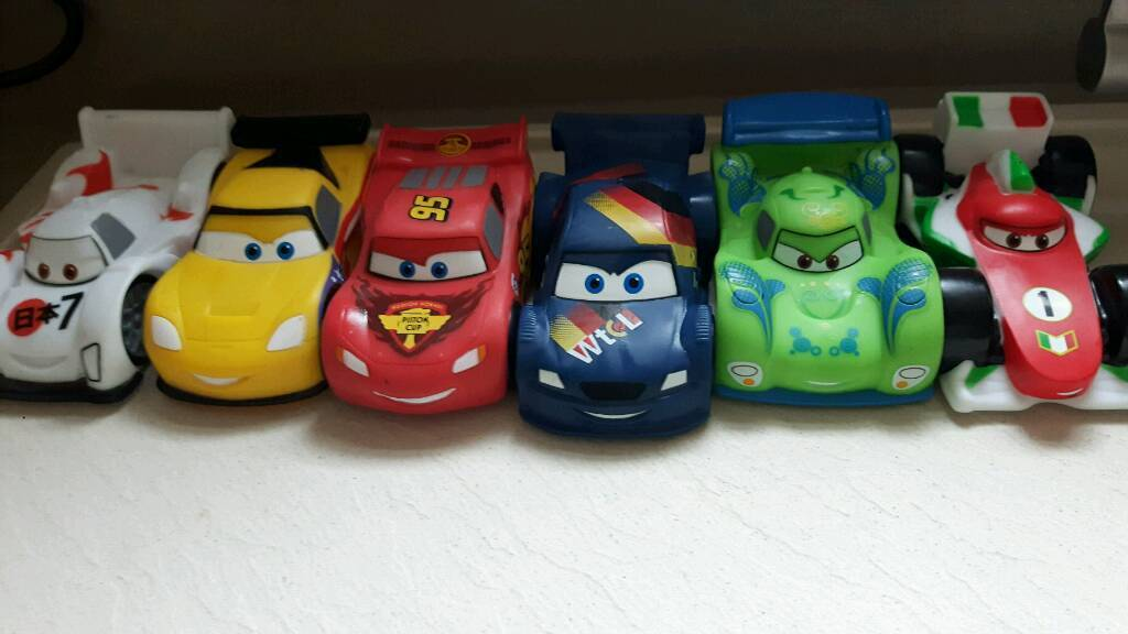Cars bath toys from..Disney store | in Lincoln, Lincolnshire | Gumtree