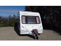 Elddis Oddysey 524 4 Berth Single Axle Caravan year 2002