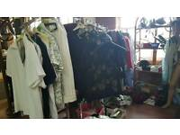 Job lot quality ladies clothes shoes etc