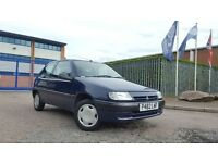 1997 Citroen Saxo 1.1 ONLY 1 OWNER 12 STAMPS LONG MOT Clean Ideal First Car Corsa Clio 106 206 307