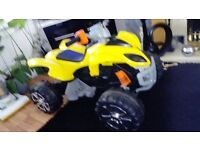 Child a quad bike