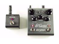 Strymon el capistan + tap favourite switch