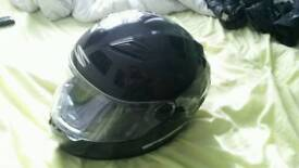 Mens Size large spider motorcycle helmet