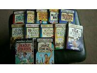 Horrible Histories books x 11 + 1 Horrible Science