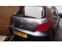 Peugeot 307 S model 1.4 2006. £400!!!!
