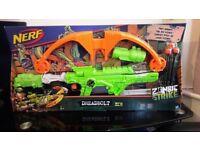 New Boxed Nerf Crossbow Zombie Strike Toy Gun