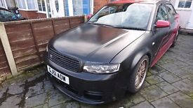 audi a4 1.8 t quattro full bodykit, one of a kind **quick sale**£995