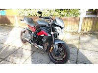 Triumph Street Triple R 2013, Recently Fully Serviced, Fresh MOT and valet