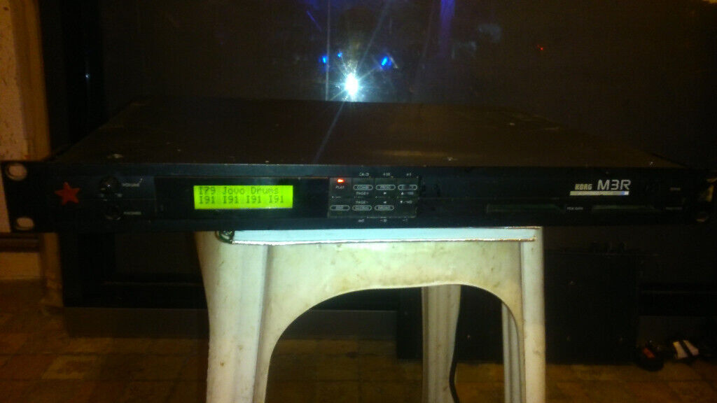Korg M3R Synth Module For Sale - in good condition | in Edmonton, London |  Gumtree