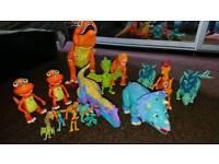 Dinosaurs train toys