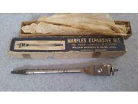 Marples expansion bit