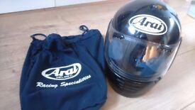 Arai Motorcycle Helmet Black