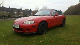 MX-5 Arizona red with black leather PX considered
