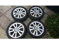 "Skoda Octavia vRS 17"" Alloy Wheels"