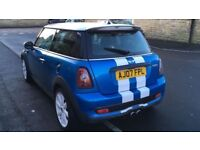 Mini Cooper S 2007 facelift Hpi Clear Full service history Carbon extras not bmw Quick Sale good spc