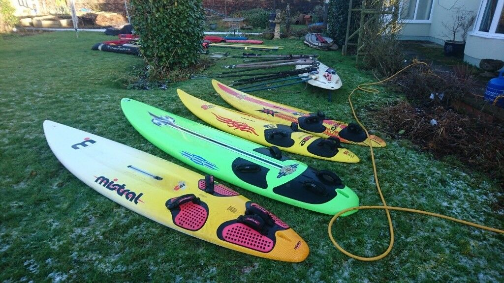 used windsurf boards sails booms fins water sport paddle board | in  Houghton Le Spring, Tyne and Wear | Gumtree