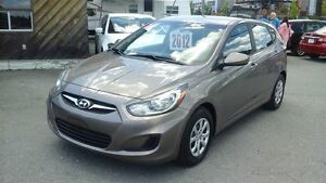 2012 Hyundai Accent GL,CRUISE,AIR CLIME,6 VITESSES