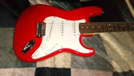 CUSTOM BUILT STRATOCASTER GUITAR