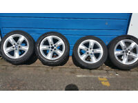 Ford Genuine alloy wheels + 4 x tyres 205 55 16