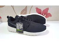 Nike Roshe Run Shoes (Black/White) - Brand New! RRP £70 - UK Size 9!