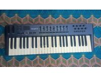 M AUDIO OXYGEN 49 MIDI KEYBOARD CONTROLLER GOOD WORK