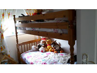 Bunk Beds - Pine - With mattresses and Downies